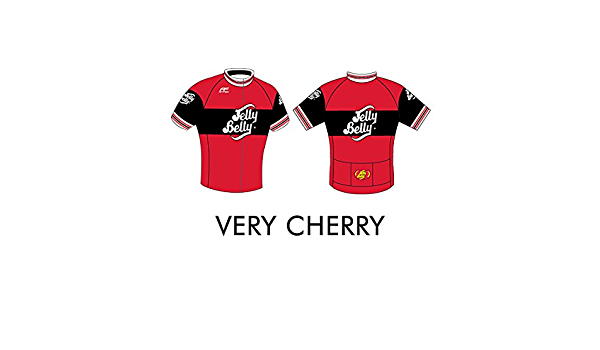 Retro Jelly Belly Very Cherry Cycling Jersey