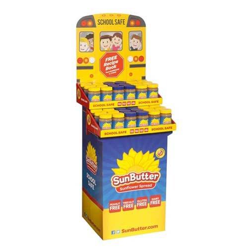 Sunbutter Natural Crunch Spread - Shipper -- 36 per case. by SunButter
