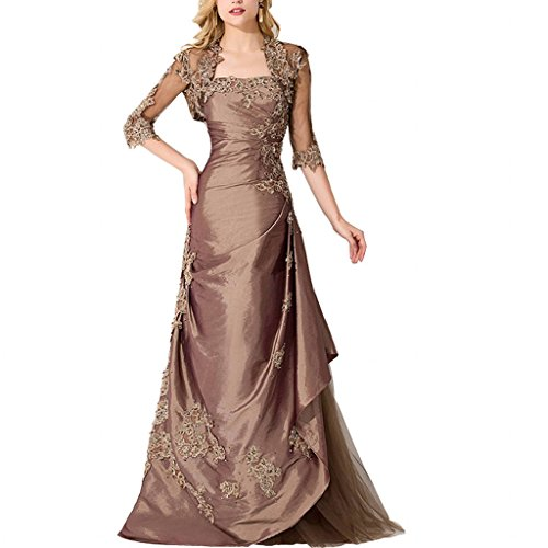 Chady Satin Appliques Mermaid With Jacket Formal Elegant Long Prom 2017 Dresses Evening party Gowns by Chady