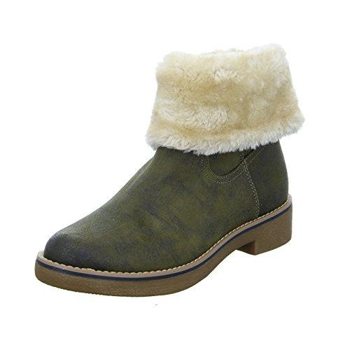 S.Oliver Boots 55 26436 Damen Warmfutter Khaki
