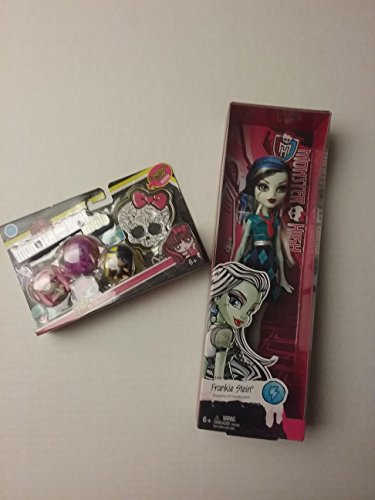 Costumes High My Monster (HOT SELLER!!!! Monster High Frankie Stein with 3-Piece MH Minis Season 1 (Minis May)