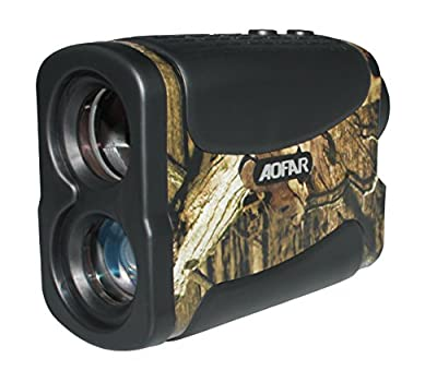 AOFAR 700 Yards 6 X 25mm Laser Rangefinder for Hunting Golf, Measurement Range finder with Speed Scan and Fog. by aofar laser rangefinder
