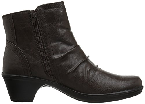 Easy Street Women's Draft Ankle Bootie Brown/Snake lowest price sale online cheap USA stockist OrremtSER3
