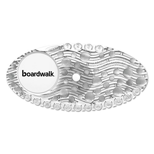 Boardwalk CURVEMAN Curve Air Freshener, Mango, Clear, Box of 10