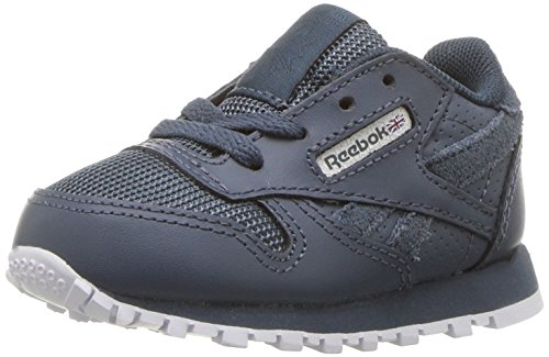 (Reebok Unisex Classic Leather Sneaker, mc-deep sea/Multi Fuji/White, 13.5 M US Little)