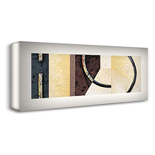 Line and Verse #II8 36x17 Gallery Wrapped Stretched Canvas Art by Holland, Cynthia