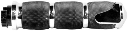 Avon Grips Chrome Air Cushion Grips with Throttle Assist MT-AIR-90-CH-BOSS ()
