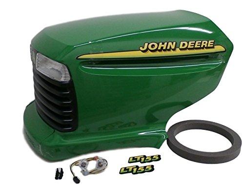 John Deere LT155 complete hood AM131759 AM132530