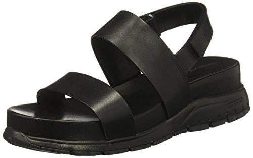Cole Haan Women's Zerogrand Slide Sandal, Black, 11 B US by Cole Haan