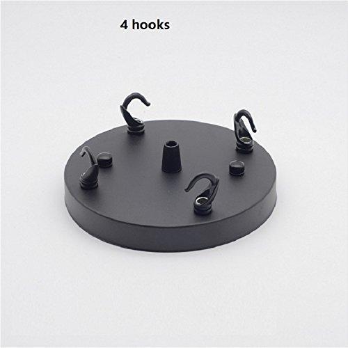 Amazon.com: Kamas - Plafón de techo redondo con ganchos para ...