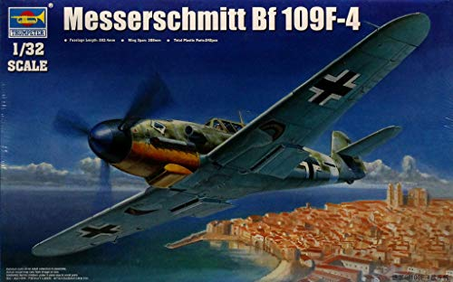 Trumpeter 1:32 Messerschmitt Bf 109F-4 Plastic Aircraft for sale  Delivered anywhere in USA