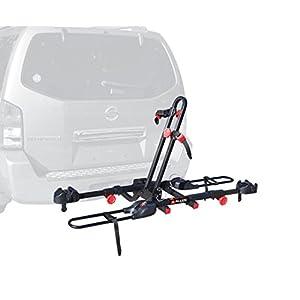 Allen Sports Easy Load Deluxe 2 Bike Hitch Rack, Black