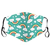 Kids Face Covering, Reusable with Ear Straps Cotton