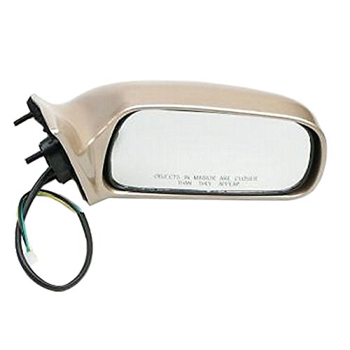 97-01 Toyota Camry Replacement Passenger Side Power Mirror (4M9 Cashmere Beige Gold)