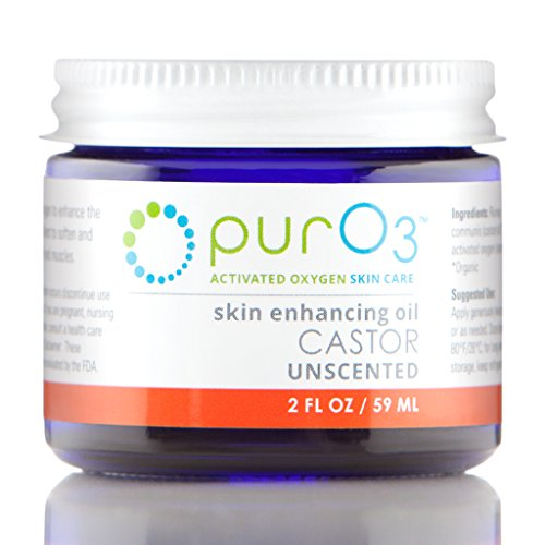 PurO3 Fully Ozonated Castor Oil - 2 oz