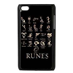 LeonardCustom Hard Snap On Cover Case for iPod Touch 4 (4th Generation), The Mortal Instruments -LCP4U82
