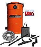VacuMaid GV30O Wall Mounted Garage and Car Vacuum with 30 ft hose and Tools