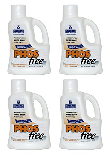 Natural Chemistry 4 05121 Swimming Pool Spa PHOSfree Phosphate Remover - 3L Each -  05121-04
