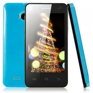 "Mini M1 256+512MB Dual-core Processor Android 4.2.3 Cellphone with 4.0"" Screen (US Standard) Blue"