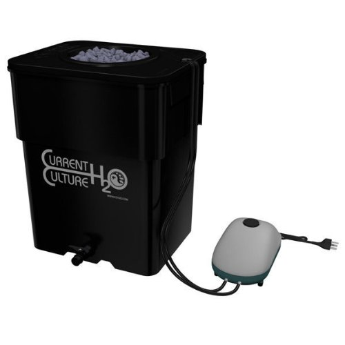 Under Current Solo 13 - 8 in. Net Pot - 13 Gallon Grow Module - CCH2O UCSOLO13 - DWC Hydroponics System weed