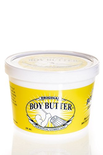 - Boy Butter Personal Lubricant, Original Formula (16 Oz. Tub)