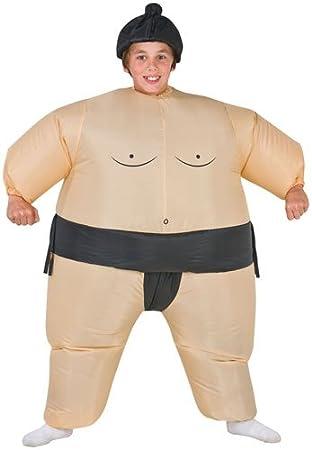 Amazon.com Boys Inflatable Sumo Wrestler Halloween Costume by Sunstar Industries Toys u0026 Games  sc 1 st  Amazon.com & Amazon.com: Boys Inflatable Sumo Wrestler Halloween Costume by ...