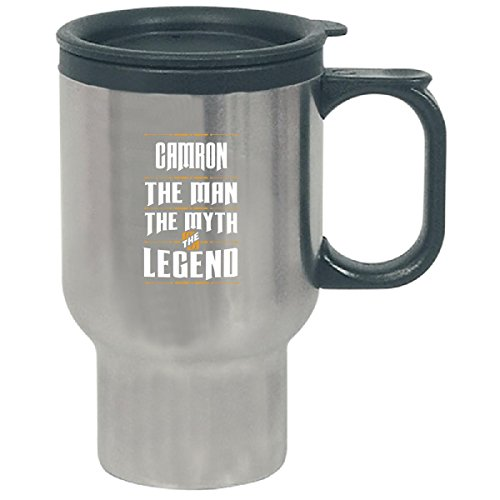 Camron The Man The Myth The Legend Funny Name Gift - Travel Mug