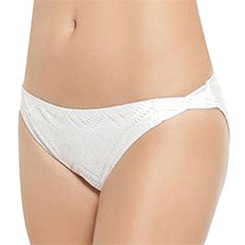 Juniors' SO White Crochet Hipster Bikini Bottoms (XSmall) - White Crochet Bikini Bottoms