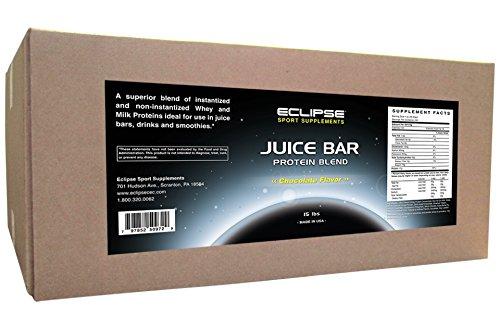 Eclipse Sport Supplements Juice Bar Protein, Chocolate, 15 Pound