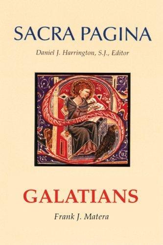 Galatians by Matera, Frank J. [Michael Glazier Books,2007] (Paperback)