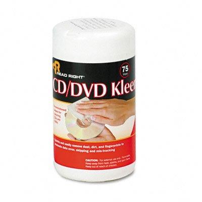 REARR1420 - CD/DVD Kleen Premoistened Wipes by Read Right
