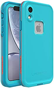 Lifeproof FRĒ SERIES Waterproof Case for iPhone XR - Retail Packaging - BOOSTED (BLUE ATOLL/HAWAIIAN OCEAN/EMB