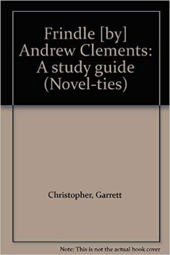 Frindle by andrew clements a study guide novel ties amazon frindle by andrew clements a study guide novel ties amazon garrett christopher books publicscrutiny Gallery