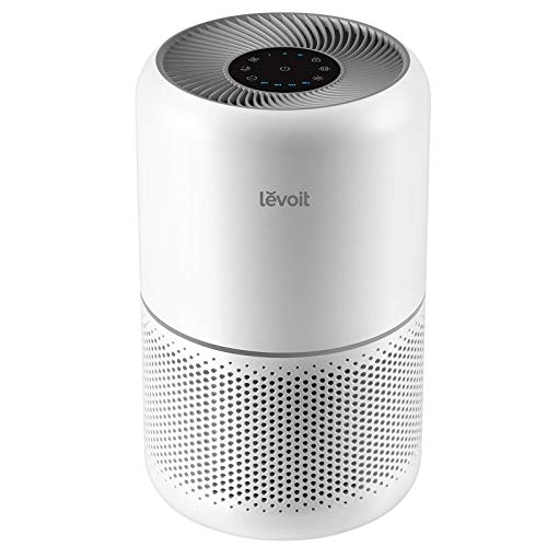 LEVOIT Air Purifier for Home Allergies and Pets Hair Smokers in Bedroom, H13 True HEPA Filter, 24db Filtration System…