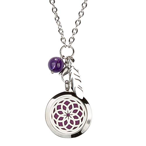 SPUNKYsoul Small Dreamcatcher Diffuser Necklace Collection (Small)