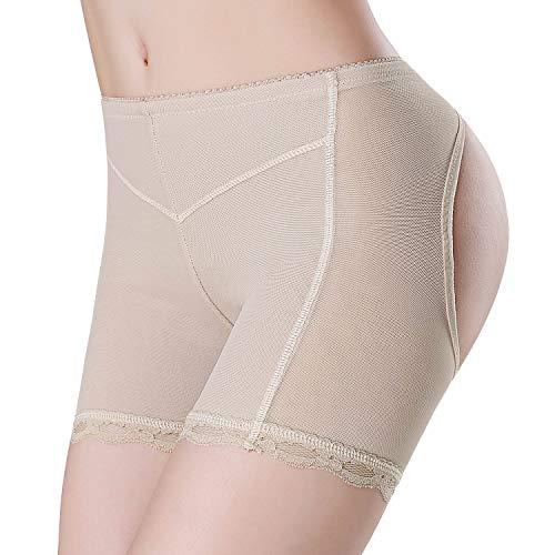 Women's Sexy Butt Lifter Panties-Seamless Enhancer Underwear Girdle Booty Lace Shapewear Body Shaper Tummy Control Boy Shorts (Best Booty Enhancer Underwear)