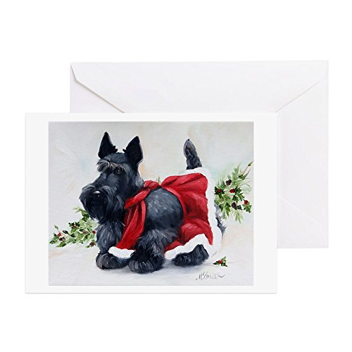 (CafePress - Christmas Greeting Cards - Greeting Card (20-pack), Note Card with Blank Inside, Birthday Card Glossy)