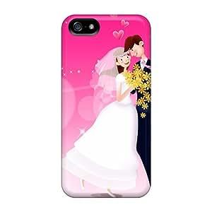 Excellent Design Valentine Day Love Dance Phone Case For Iphone 5/5s Premium Tpu Case