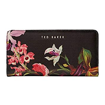 03feabf781f0 Ted Baker Women s IMBERI Lost Gardens Popper Leather Matinee Purse   Amazon.co.uk  Luggage