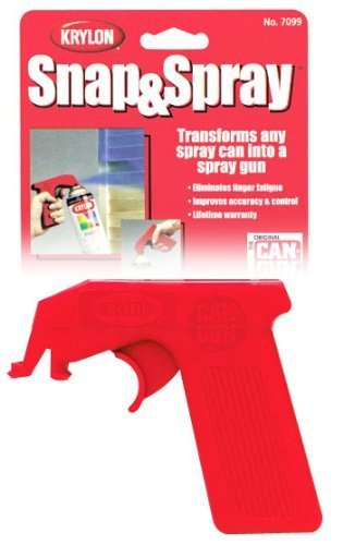 Snap-On Trigger Handle Transforms Any Spray Can Into A Spray Gun (Pkg/6) (Handle Trigger)