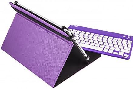 Silver HT 111914640199 - Funda Universal con Teclado inalámbrico para Tablet de 9