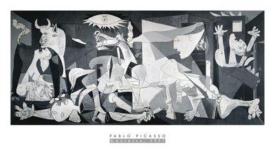 Pablo Picasso Guernica Art Print Poster
