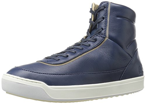 Lacoste Women's Explorateur Calf 316 1 Caw Nvy Fashion Sneaker, Navy, 6.5 M US