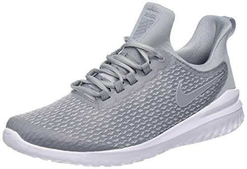 NIKE Mens Renew Rival Stealth Wolf Grey White Size 10