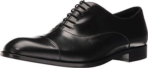 Hommes Armani Chaussures Richelieu À Lacets Noirs Noir