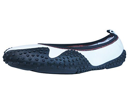 Puma Neo Ballerina L Damen Leder Pumps - Schuhe Weiß