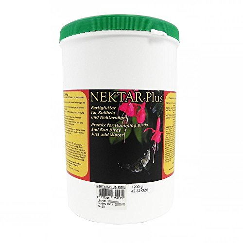 Nekton Nektar-Plus Premix For Hummingbirds And Sunbirds 1200Gm / 2.6Lb