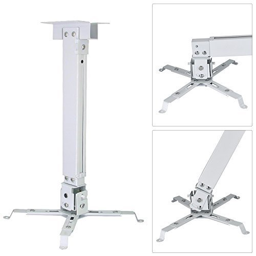 NewPal Universal Projector Ceiling Mount Expanded 3 Types Wall Projector Ceiling Fixture Extended to 1-1.2M availble LED-96 Other 4 Corner Projector K-Better