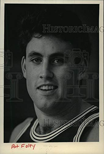 1985 Press Photo Marquette University basketball player, Pat Foley of Milwaukee - Historic Images