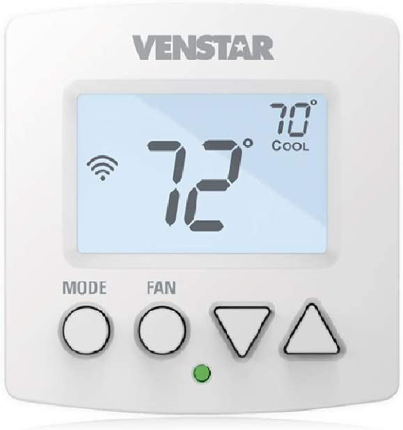 Venstar T2000 - Explorer Mini Voyager WiFi Digital Programmable Residential Thermostat